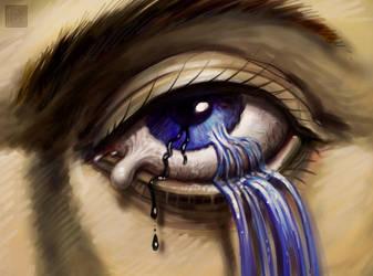 Soft Leaking Eye by VegasMike