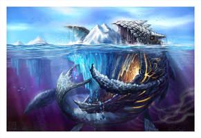 Iceberg Devourer by VegasMike
