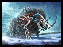 Undead Arctic Creature by VegasMike