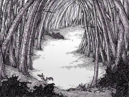 Woods in Shakesbury by Sosak