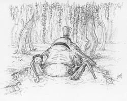Fairy tale creature - Nix by Sosak