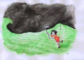 Catchin' butterflies by Sosak