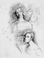 Faces of the endless delirium by Sosak