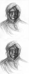 Changing old lady by Sosak