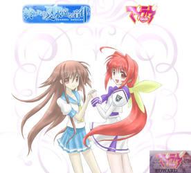 Mio and Sumika by Xorte-Renshe