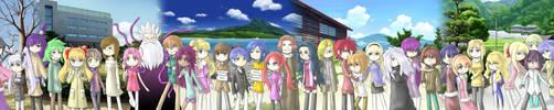 The KimiIta character spectrum -67 characters by Xorte-Renshe