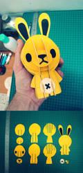 Yellow Bunny by daskull