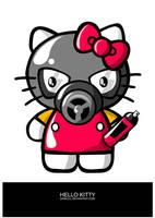 Hello kitty by daskull