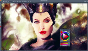 WIP - Maleficent by lilyrjensen