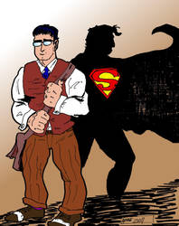Clark Kent by ComicAenne