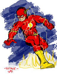 The Flash by ComicAenne