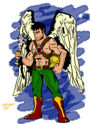 Brightest Day: Hawkman by ComicAenne