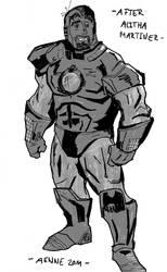 Iron Man by ComicAenne