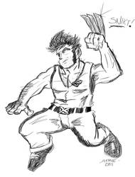Wolverine by ComicAenne