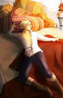 Captive Prince: Pillows by CanneDeBonbon