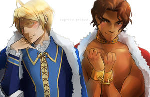 Captive Prince by CanneDeBonbon