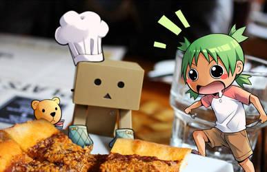 Mr. Chef Danbo by CanneDeBonbon