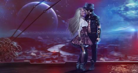 Space pirates by LaLaMora
