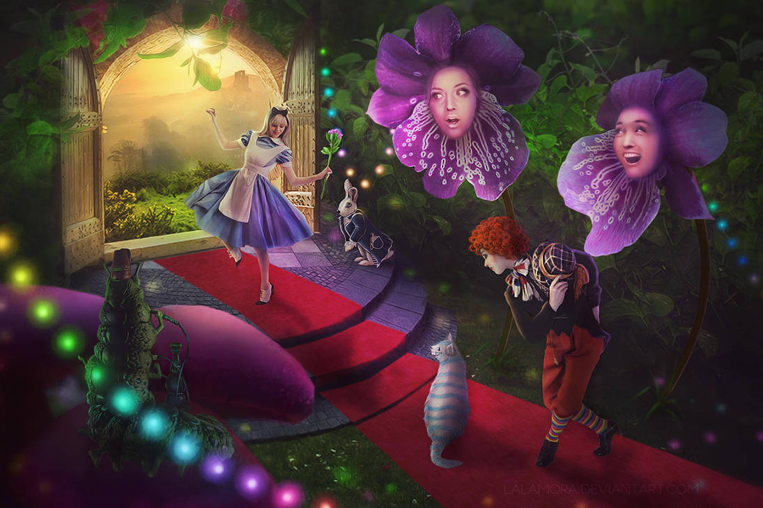 Alice in Wonderland by LaLaMora