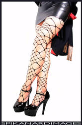 Perfectly Wicked Fishnets by Spikanard