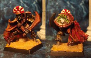 Roman Skeletal Centurion by JordanGreywolf