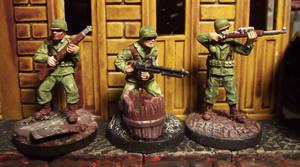 WWII American Infantry Patrol by JordanGreywolf