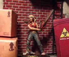 Berkeley, Zombie Hunter by JordanGreywolf