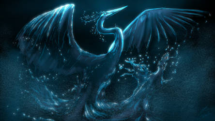 The Water Phoenix by JordanGreywolf