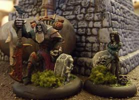 Warmachine: Goreshade and the Deathwalker by JordanGreywolf