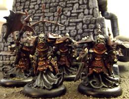 Warmachine: Classic Bane Thralls by JordanGreywolf