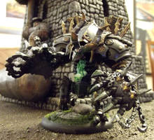 Warmachine: Cryx Deathjack by JordanGreywolf