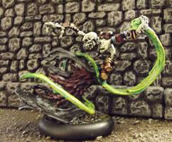 Warmachine: Skarlock Thrall by JordanGreywolf