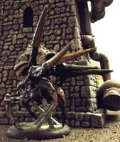 Warmachine: Cryx Harrower Warjack by JordanGreywolf