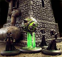 Warmachine: Witch Coven of Garlghast by JordanGreywolf