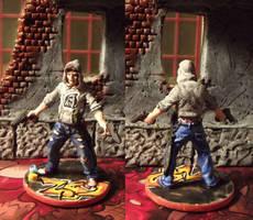 Zombicide: Josh the Thug by JordanGreywolf