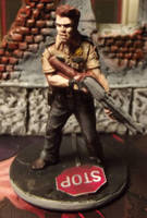 Zombicide: Phil the Cop by JordanGreywolf