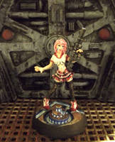 Candy, Anime Cyberpunk Heroine by JordanGreywolf