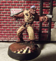 Officer Terrell, Post-Apocalyptic Survivor by JordanGreywolf
