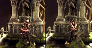 Elise Anya, Vampire Hunter by JordanGreywolf