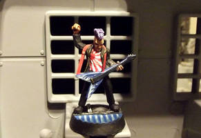 Sid, Cyberpunk Rock Star by JordanGreywolf