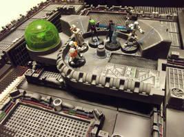 Sci-Fi Corridors - Work in Progress by JordanGreywolf