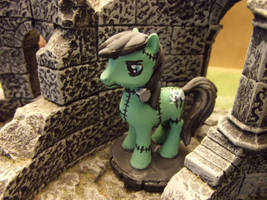 Ponypocalypse: Frankensteed Monster by JordanGreywolf