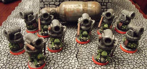Super Dungeon Explore Turtle Bombardiers (Custom) by JordanGreywolf