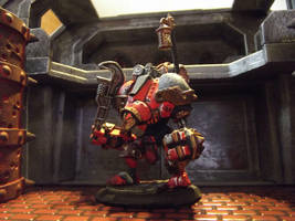 Khador Light Steamjack for Iron Kingdoms Campaign by JordanGreywolf