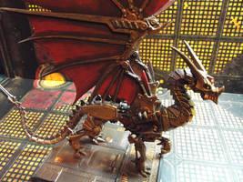 Reaper 77177 Wyrmgear - Steampunk Dragon by JordanGreywolf