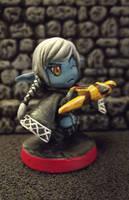 SDE: Kaelly the Nether Strider, Elf Assassin by JordanGreywolf