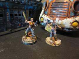 Brother Vinni's Hooligan Girls (Post-Apocalyptic) by JordanGreywolf