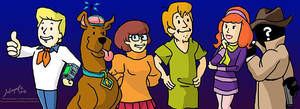 Rooby-Doo Gang - Post-Apocalyptic Meddling Kids by JordanGreywolf