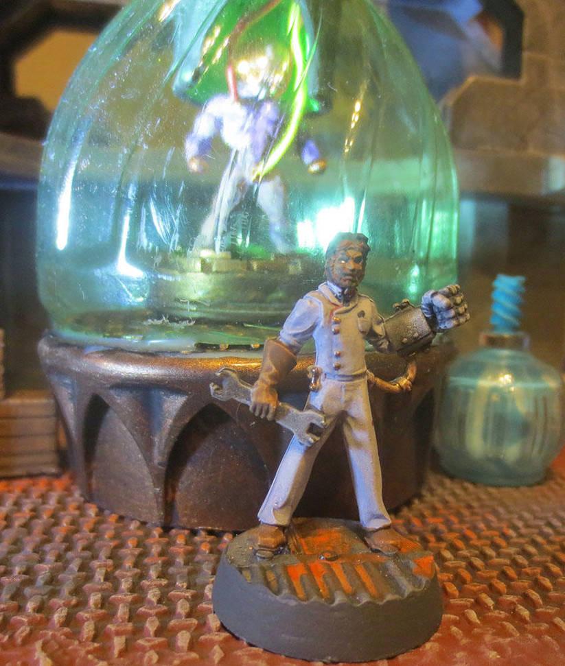 Deadlands Mad Scientist - It's Aliiiiive! by JordanGreywolf