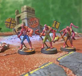 Mutant Road Crew by JordanGreywolf